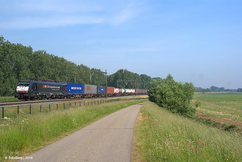SBB 189 288 containertrein Willemsdorp 26.05.2018