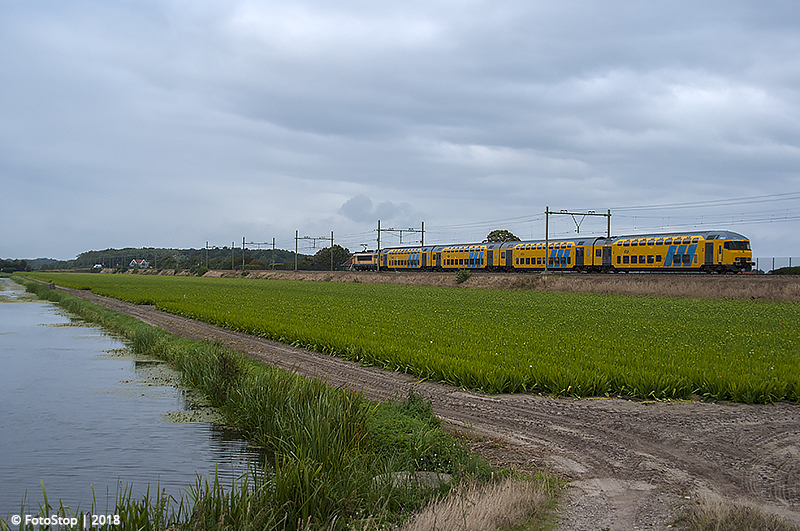 DDM1 - NSR 1768 - trein.6358 Hillegom 19.08.2018